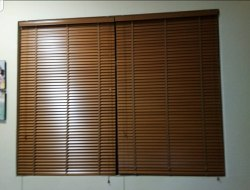 Shree Services Brown Wooden Window Blind