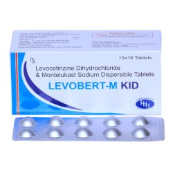 Levocetirizine 2.5mg  Montelukast Sodium 5mg tablets