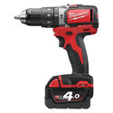 Milwaukee M18blpd-202c Compact Brushless Percussion Drill, 450 - 1800 Rpm
