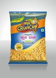Mr. Crunchy Moong Daal Namkeen, Packaging Type: Packet