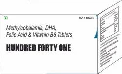 Methylcobalamin DHA Folic Acid & Vit B6 Tablets