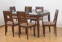 Nilkamal Brown Hampshire Dining Set, For Home