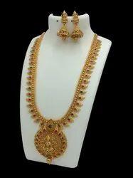 D8030 Brass Jewellery Set