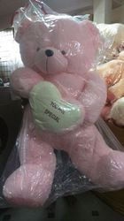 5.5 ft (179CMS) Life-Size Teddy Bear Pink Lady Cuddles