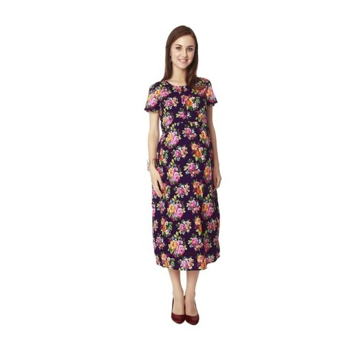 321469d39f9 Nine Maternity Nursing Dress In Multicolor at Rs 1695