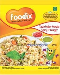 10 Gm Foodix Spicy And Tangy Masala