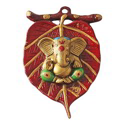 Metal Wall Hanging Lord Ganesha Decorative Gift