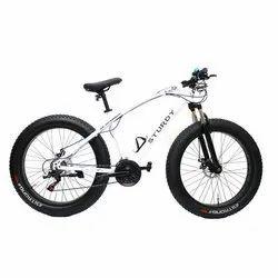 Sturdy White Child Fat Bike