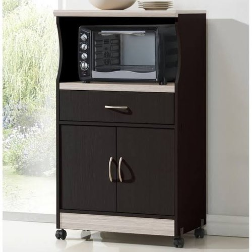 Movable Plywood Microwave Cabinet At Rs, Movable Kitchen Cabinets India