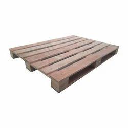 Brown Plywood Pallet, For Food Industries
