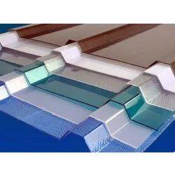 Coated Polycarbonate Corrugated Sheet