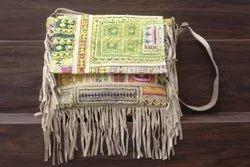 Women's  Banjara Embroidery Cross Body Bag