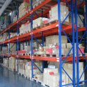 Three Shelves Paint Coated Heavy Duty Storage Rack