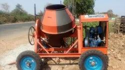JSC052 Cement Concrete Mixer stand type with 5 hp electric motor
