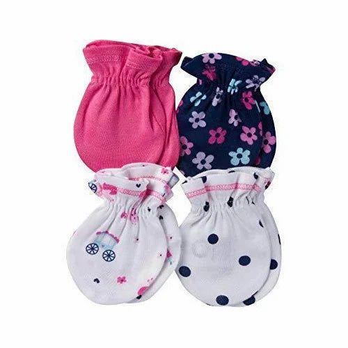 Kids Cotton Mittens