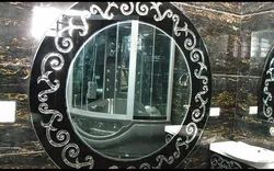 Decorative Round Mirror Glass, Features: Scratch Resistance, Thickness: 3-5mm
