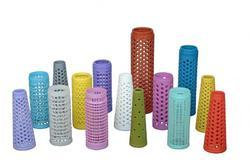 Colored Perforated Tubes