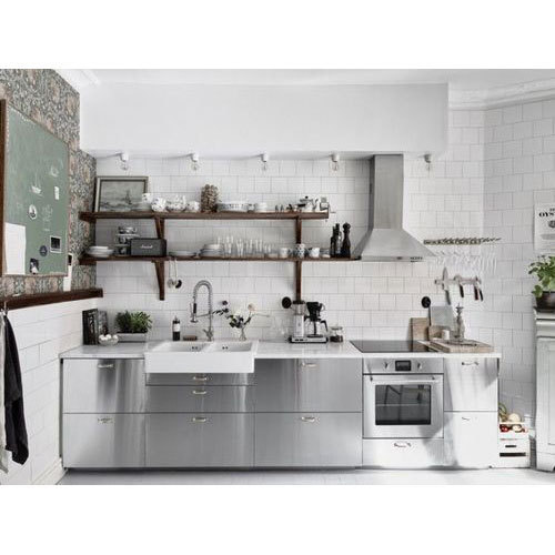 Stainless Steel Modular Kitchen, SS Modular Kitchen