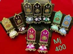 Wedding wear meenakari Earring
