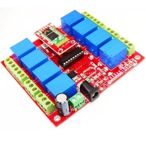 8 Channel Relay Board Bluetooth
