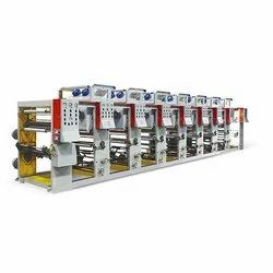 1-8 Color Plastic Color Printing Machine