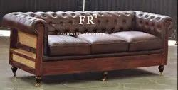 Hotel Furniture - Leather Chesterfield Sofa - Hotel Chesterfield Chair, Resort Chesterfield Chair