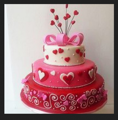 Pleasant Lovely Hearts 10Kg Butterscotch Cake At Rs 11500 Piece Mvp Personalised Birthday Cards Cominlily Jamesorg