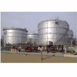 Epoxy Coated Metallic Chemical Storage Tanks