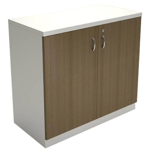 White And Brown Wooden Cabinet Rs 7500 Piece Alpha Interio Id