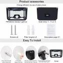 Solar Motion Sensor Lights for Garden 66 LED  Security Waterproof Lamp for Home,Outdoors Pathways