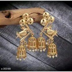 Bird Design Earring