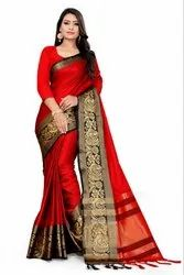 Cotton Saree For Women'S