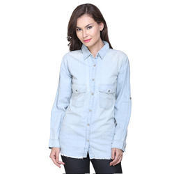 Surplus Branded Ladies Denim Shirt