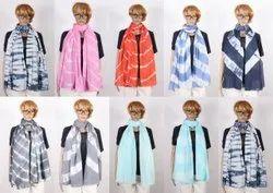 Tie Dye Printed Scarves