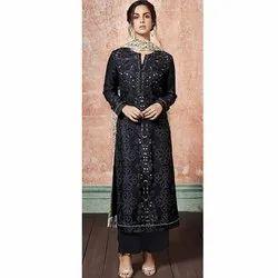 Stitched Sahib Designer Cotton Salwar Suit, Handwash