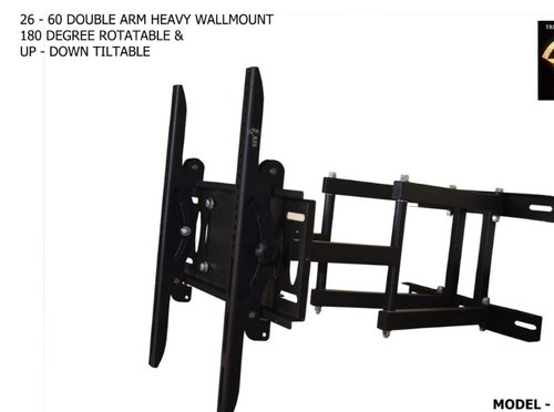 Cast Iron Adjustable Tv Wall Mount Tv Size 43 55 Inches Led Tv