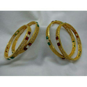 Trendy Gold Plated Bangle