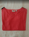 Red Round Neck T Shirt For Girls