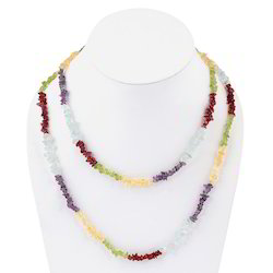 Semi Precious Stones Necklace Mala 202