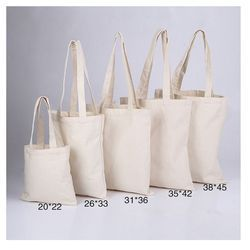 Different Size Cotton Shopping Bags