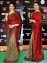 Stunning Heavy Embroidered Designer Banarasi Georgette Saree