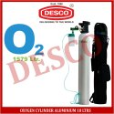 Desco Oxygen Cylinder Aluminium 10 Ltrs For Hospital