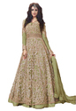 Engagement Party Wear Net Anarkali Style Lehenga Suits