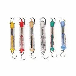 Spring Balance Tubular Plastic Set of Six SV193