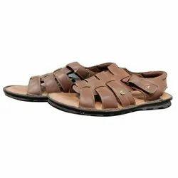 Pu Daily wear Men Ruosh Leather Sandal