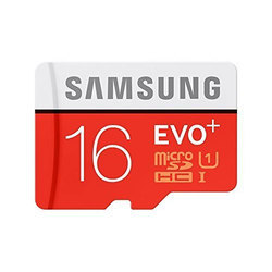 Samsung EVO Memory Card, Memory Size: 16GB