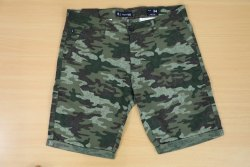LEAF STAR Lycra Cotton Shorts