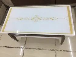 White Imported Center Table, Size: 2x4