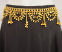 Gold Plated Belly Dance Kuchi Chain Belt Event Fashion Garba