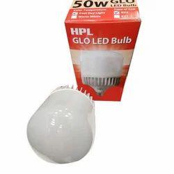 White 50W HPL GLO LED Bulb